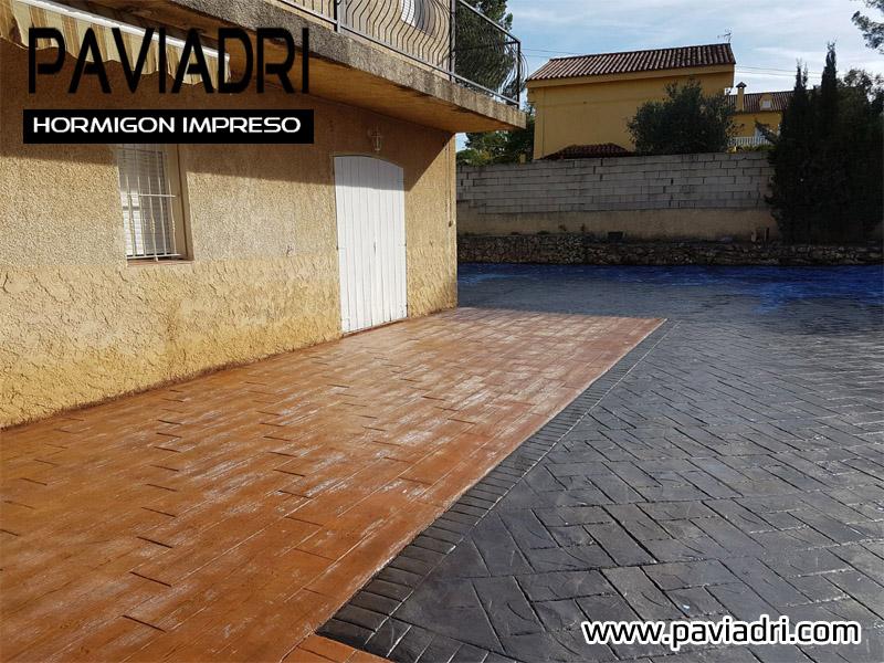 pavimento impreso Valencia